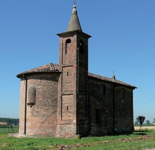 Quingentole, oratorio di San Lorenzo #Mantova #Mantua #Italia #Italy #colline #moreniche #hills #morainic