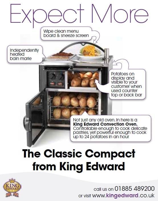 Check out the fantastic range of Jacket potato ovens by King Edward smile emoticon