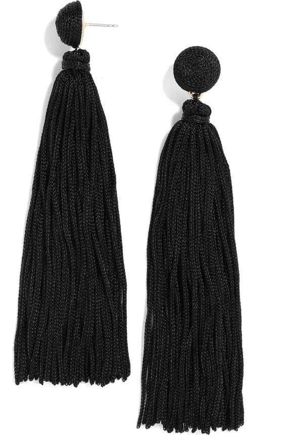 Free shipping and returns on BaubleBar Gabriela Tassel Fringe Earrings at Nordstrom.com. Tiered tassels define head-turning statement earrings that frame your face in vibrant color.