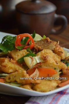Diah Didi's Kitchen: Cap Cay Kekian Udang Goreng & Bakso