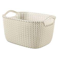 Curver Basket Rectangle Knit 8 Litre