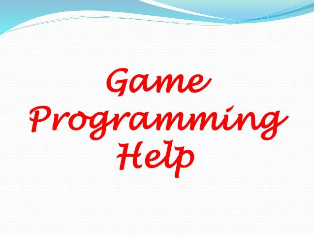 Game programming-help by Steve Nash via slideshare
