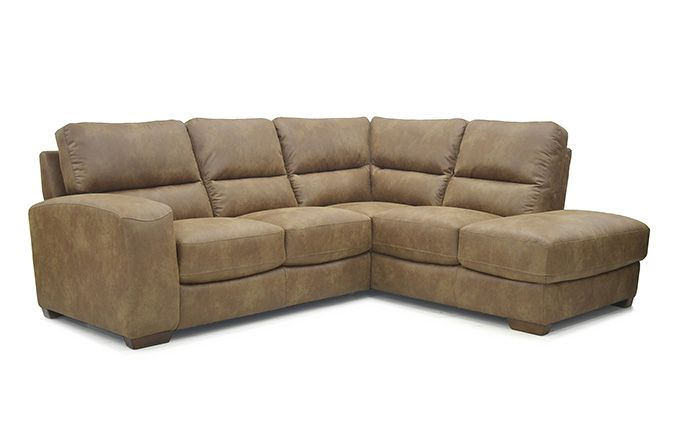 The Ashton Leather Corner Unit available in both Left Hand or Right hand combinations.