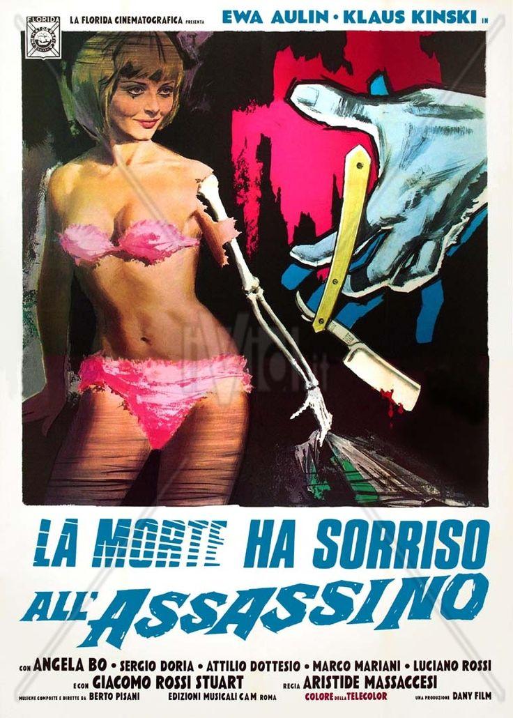 """Death Smiles on a Murderer (1973) """"La morte ha sorriso all'assassino"""" (original title)Stars: Ewa Aulin, Klaus Kinski, Angela Bo, Sergio Doria, Attilio Dottesio ~ Director: Joe D'Amato"""
