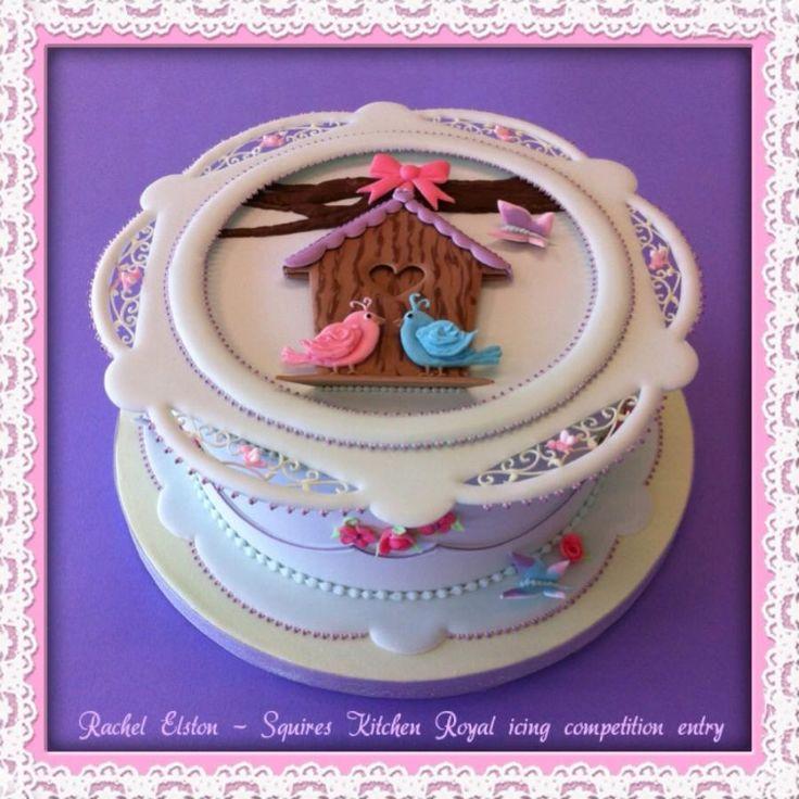 Royal iced cake