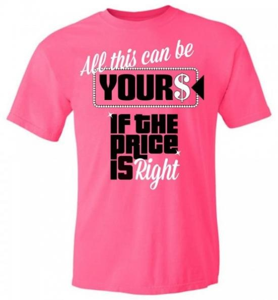 price is right game show shirts