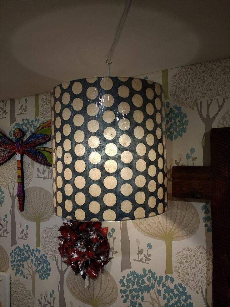 Hand made lokta paper lamp shade x made in anglesey wales the paper is fair trade from nepal