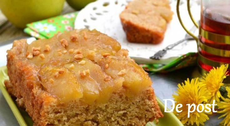 Vă propunem astăzi o rețetă delicioasă de chec cu mere răsturnat. Este un desert minunat, perfect pentru perioada de post. Merele suculente și blatul fraged și pufos, caramelizate în zahăr și învăluite de aroma delicată a scorțișoarei fac din acest desert banal, un deliciu absolut. Alintă-ți papilele gustative cu un desert fraged de primăvară! Ingrediente …