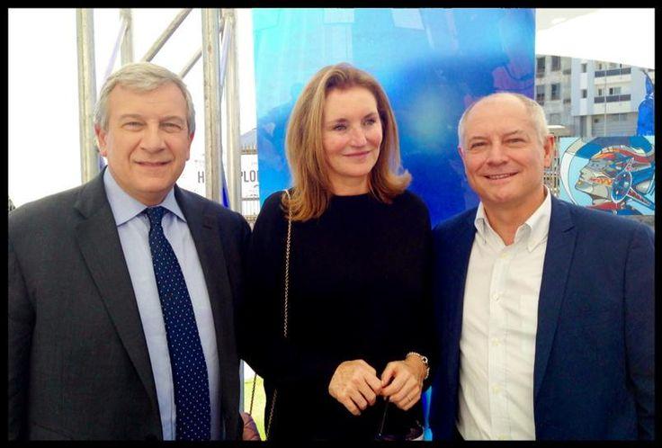 Avec Cecilia Attias et Richard #Attias à #Dakar pour le 1er forum économique de la francophonie