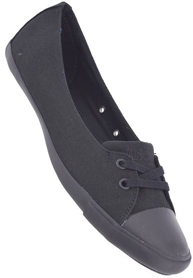 632578c421d Converse Chuck Taylor All Star Light Skimmer Canvas - Ballerina Shoes for  Women - Black -