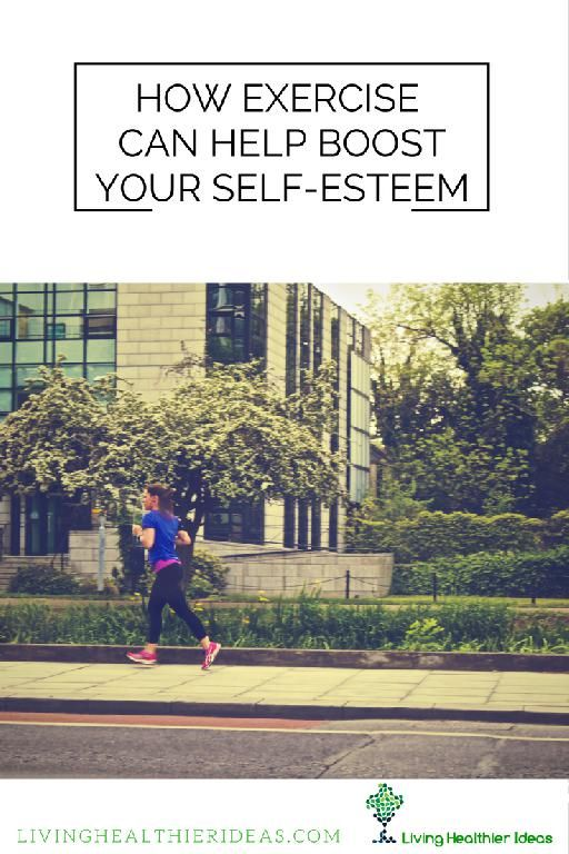 Did you know that exercise can help boost our self-esteem? Exercise has a wide range of benefits to our physical as well as to our mental health.