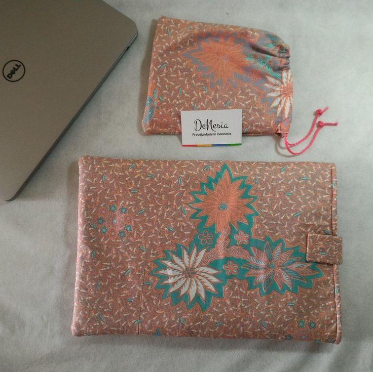 Blue DeNesia's Ethnic Batik Laptop Sleeve | Sarung Latop Batik | LS09