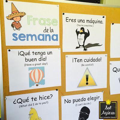 Incorporating a Frase de la Semana in the Spanish Classroom