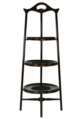 3 Tier Arts & Crafts Wooden Stand, Antique English Victorian, 19th Century