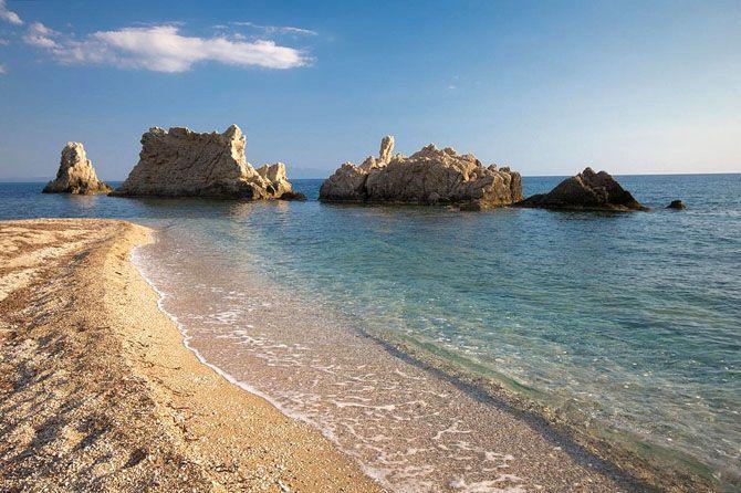 Artolithia beach, Preveza, Greece Αρτολίθια   Παραλίες   Φύση   Ν. Πρεβέζης   Περιοχές   WonderGreece.gr