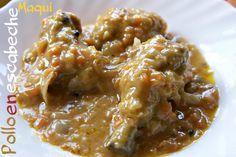 Pollo en escabeche - Cocina y Thermomix TM5 - MundoRecetas.com