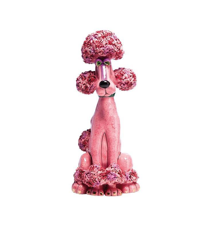 Salvadanaio Barboncino Rosa Kare Design