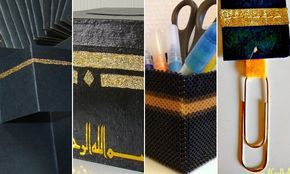 4 activités créatives autour de la Kaaba