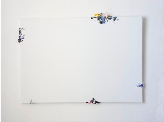 Fuoriquadro 17, 2010  acrylic on canvas, cm 150x206x4