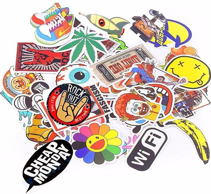 ==> [Free Shipping] Buy Best 600pcs PVC Cute Laptop car stickers decal funny Vinyl skateboard SUV Boat Cover Motorcycle Mirror Decoration Waterproof sticker Online with LOWEST Price | 32807264727