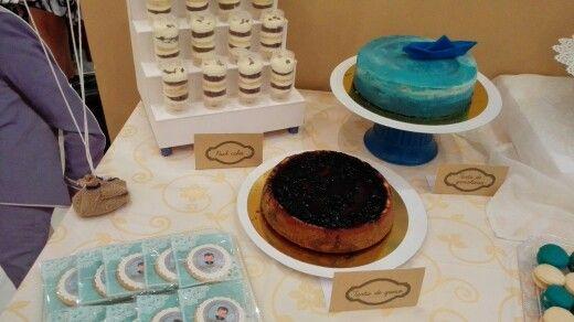 Cheesecake, carrot cake, push cakes and cookies