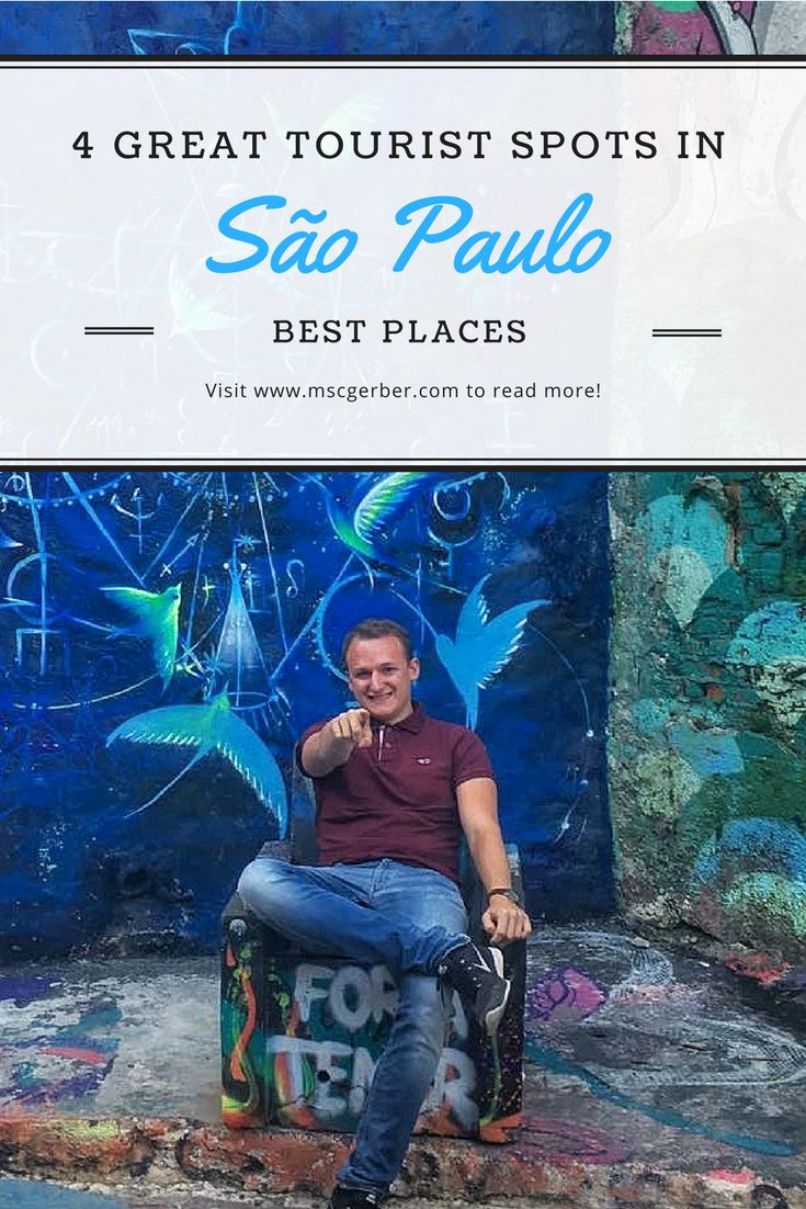 "If you plan a trip to Sao Paulo in Brazil my following list will definitely help you to find some great activities for you. Check out my ""4 great tourist spots in Sao Paulo"" on my website."