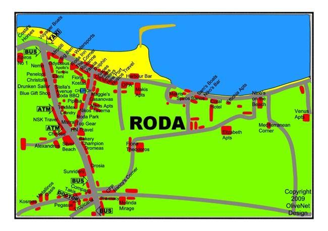 Map of Roda