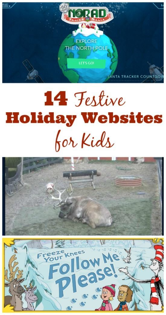 Love these Christmas-themed websites with great online games, fun learning & holiday activities for kids!