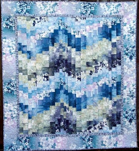 Northern Lights Fabric : Best images about bargello northern lights quilts on