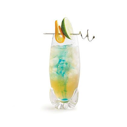 Superb In this festive tropical cocktail rum is mixed with lime and passion fruit juices
