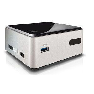 PC de bureau LDLC PC NUC-CEL-4-H10 (Bay Trail) Intel Celeron N2820 4 Go 1 To Intel HD Graphics Wi-Fi N/Bluetooth 4.0 (sans OS - non monté)