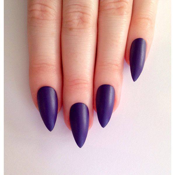 Best 25+ Purple stiletto nails ideas on Pinterest ...