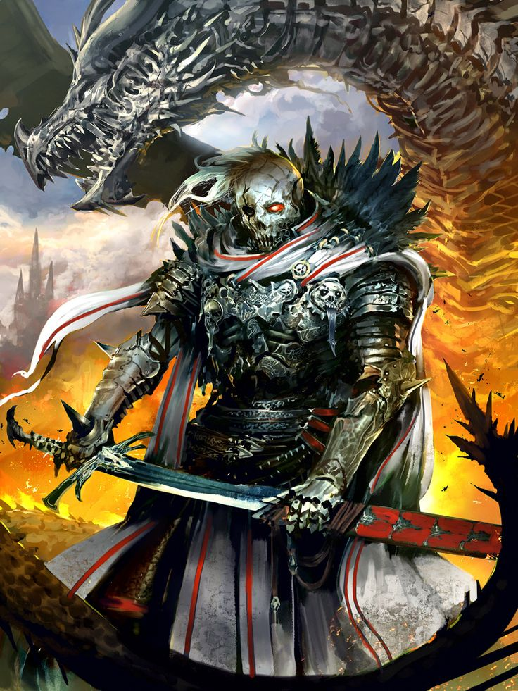 Cadaver Knight Grumbach by Kekai - Kekai Kotaki - CGHUB via PinCG.com