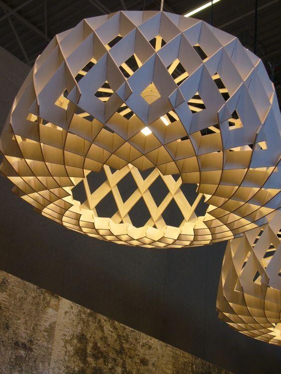 PLYWOOD PENDANT LAMP PILKE 60 | SHOWROOM FINLAND: