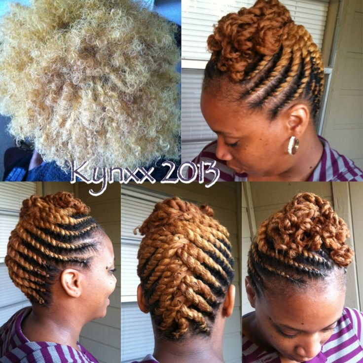 flat twists natural hair styles blondie flat twist updo makin my livin 3248 | 96287fdb29f62fc1c347d74a4f0a0137 natural hair hairstyles natural hair braids