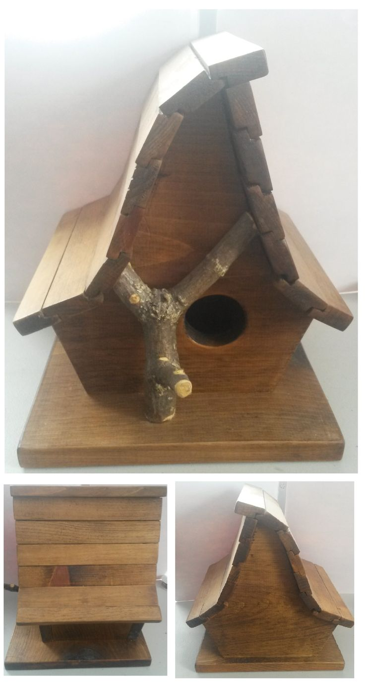 Birdhouse for my sister. By:Joshua Stone