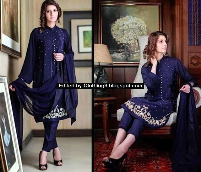 Agha Noor Luxury Kurtas Collection 2016-2017 | Agha Noor Store Karachi ~ Clothing9 | Latest Clothes Fashion Online Dress Designers