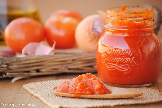 Neus cocinando con Thermomix: Salsa de tomate