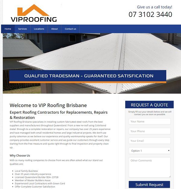VIP Roofing Brisbane is a family business that offer the best roofing services whenever you need the best options in within the market