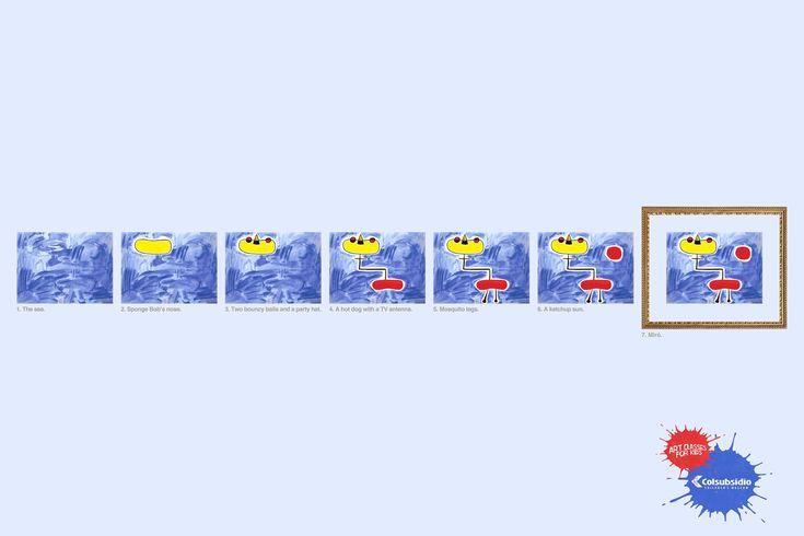 Art classes for kids. #Print #Ads #Advertising   Advertising Agency: LOWE/SSP3, Bogota, Colombia Chief Creative Officer: Jose Miguel Sokoloff Executive Creative Directors: Jaime Duque, Gustavo Marioni Creative Directors: Carlos Andres Rodriguez, Sergio Leon Copywriter: Diego Alejandro Muñoz Art Directors: Diego Alejandro Plata, Mateo Fernandez Producer: Sonia Llanos Account Director: Carlos Obando Chief Executive Officer: Francisco Samper Illustrator: Andres Barrientos