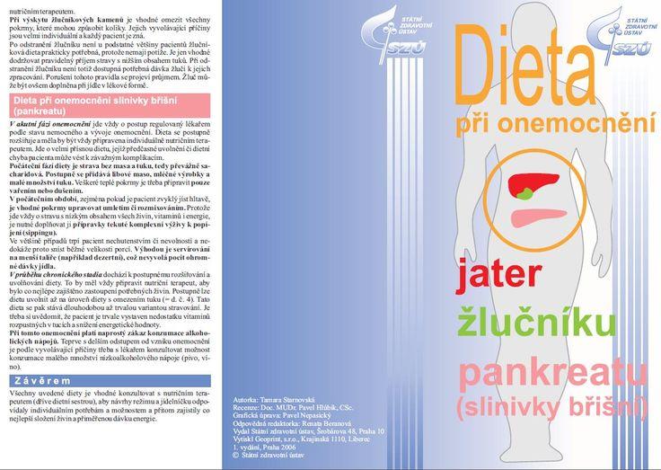 Dieta při onemocnění jater, žlučníku a slinivky břišní :: MUDr. Švandová