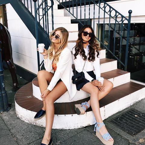 Fresh partners in crime shop our closets today at rebelleofficial