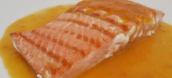 Δες εδώ μια μοναδική συνταγή για ΣΟΛΩΜΟ ΨΗΤΟ ΣΤΟ ΦΟΥΡΝΟ ΜΕ ΣΑΛΤΣΑ ΑΠΟ ΧΥΜΟ ΠΟΡΤΟΚΑΛΙ ΚΑΙ ΤΖΙΝΤΖΕΡ, μόνο από τη Nostimada.gr