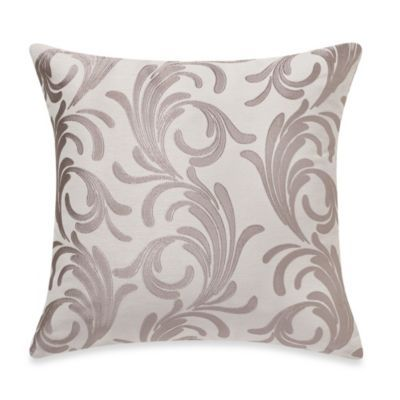 Decorative Pillow Covers Bed Bath Beyond : Buy MYOP Royal Scroll Square Throw Pillow Cover in Taupe from Bed Bath & Beyond spring/summer ...