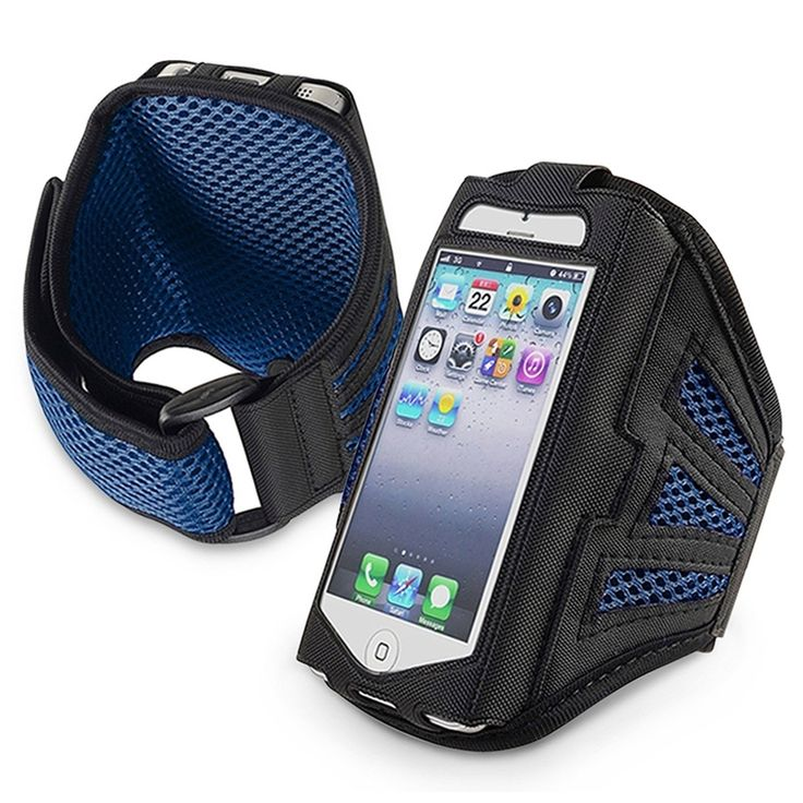 Arm Band Running Sports GYM Armband Case Cover for Apple iPhone 5 Blue & Black. Generic Arm Band Running Sports GYM Armband for Apple iPhone 5. Compatible with Apple iPhone 5. Exercise your right to a great soundtrack with this ultimate workout duo an phone armBand Case. This durable, lightweight armband case keeps your phone secure and protected. Multiple layers of padding offer the best in protection.