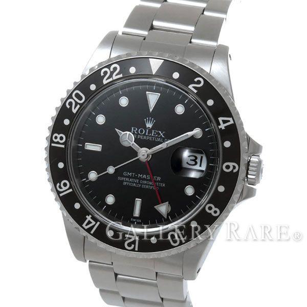 ロレックス GMTマスター 黒ベゼル A番 16700 ROLEX 腕時計