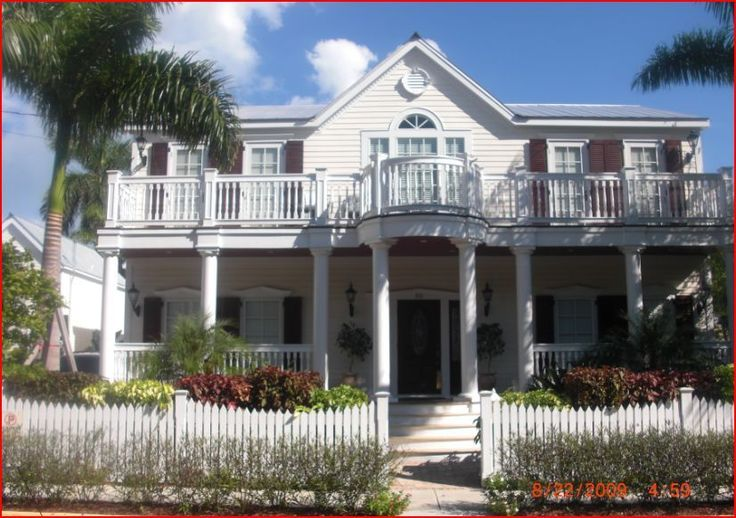 Key West house rental - Front view of House 916 James St