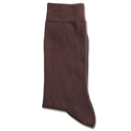 Democratique Socks Originals Solid Brown