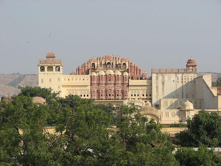 Hawa Mahal- Panoramic view