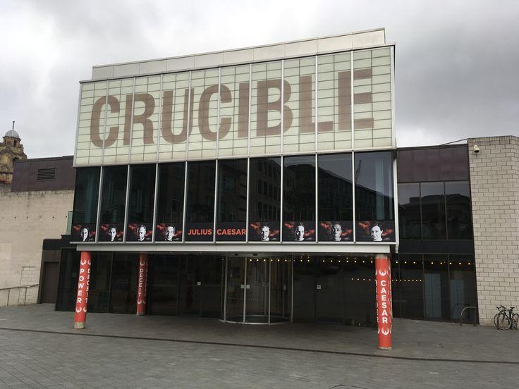 Julius Caesar - Artworking for the Crucible Theatre Adelphi and Forecourt